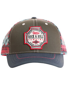 Rock   Roll Cowgirl Women s Rodeo City Mesh Cap e61ad0cce1e