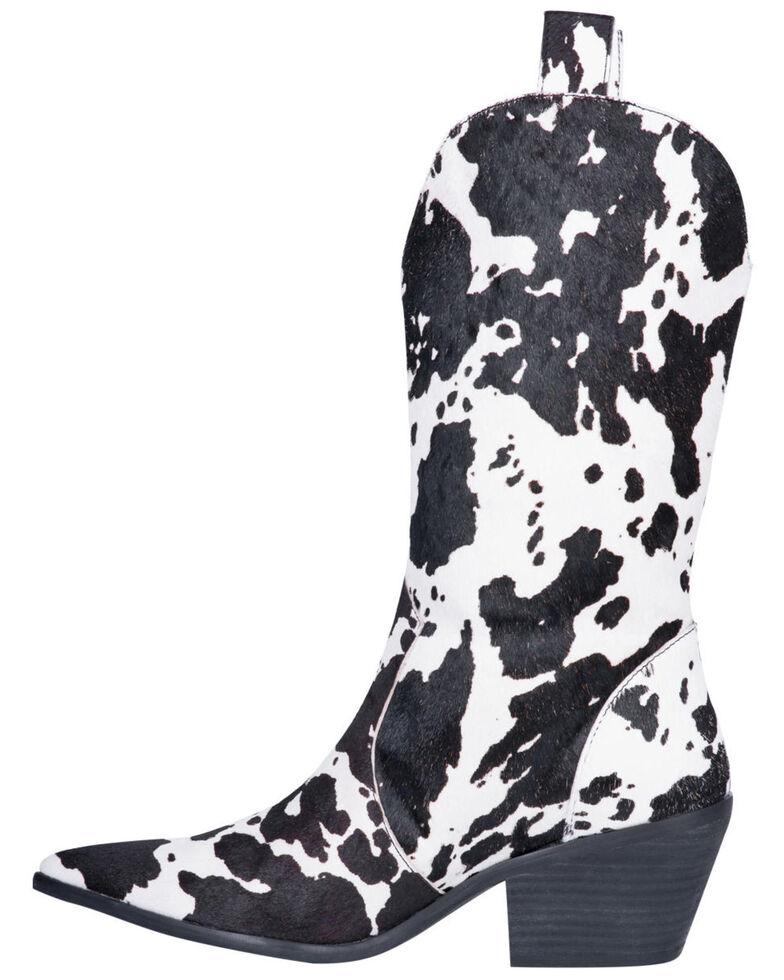 Dingo Women's Live A Little Western Boots - Pointed Toe, Black, hi-res