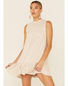 Sadie & Sage Women's Inconsideration Dress , Oatmeal, hi-res