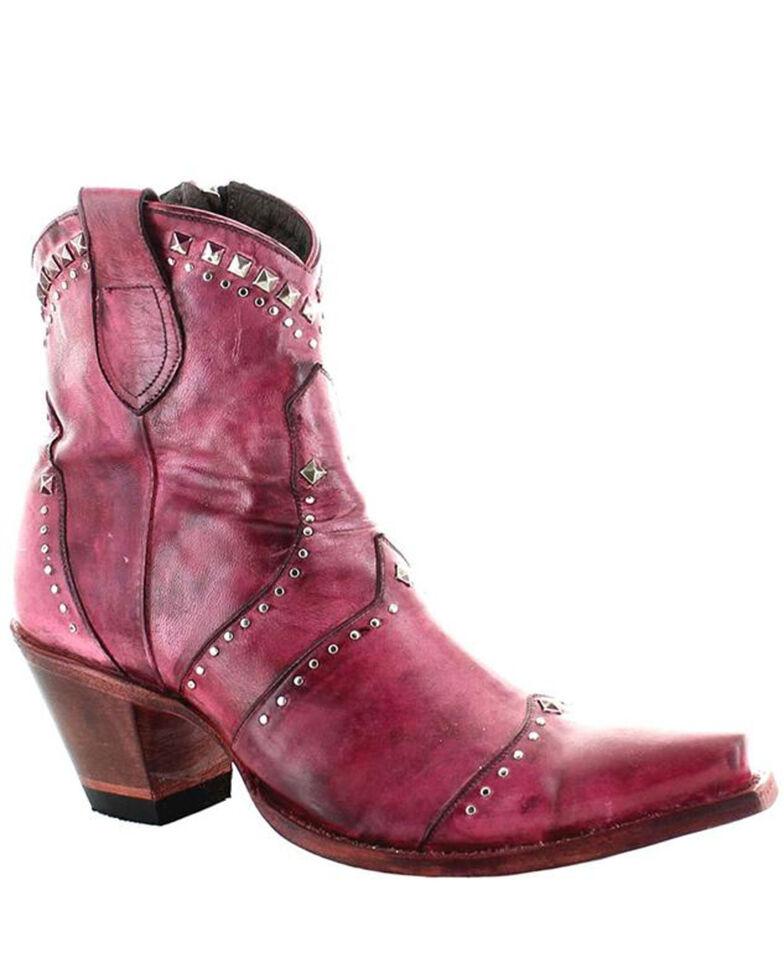 Old Gringo Women's Pink Natasha Fashion Booties - Snip Toe, Pink, hi-res