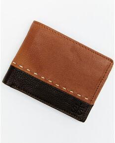 STS Ranchwear Men's Frontier Bifold Wallet *BAD*, Brown, hi-res