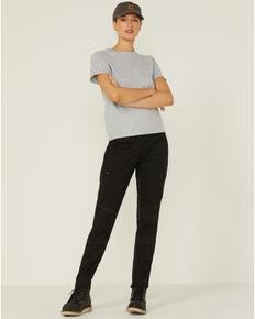 Ariat Women's Cargo Straight Leg Pants, Black, hi-res