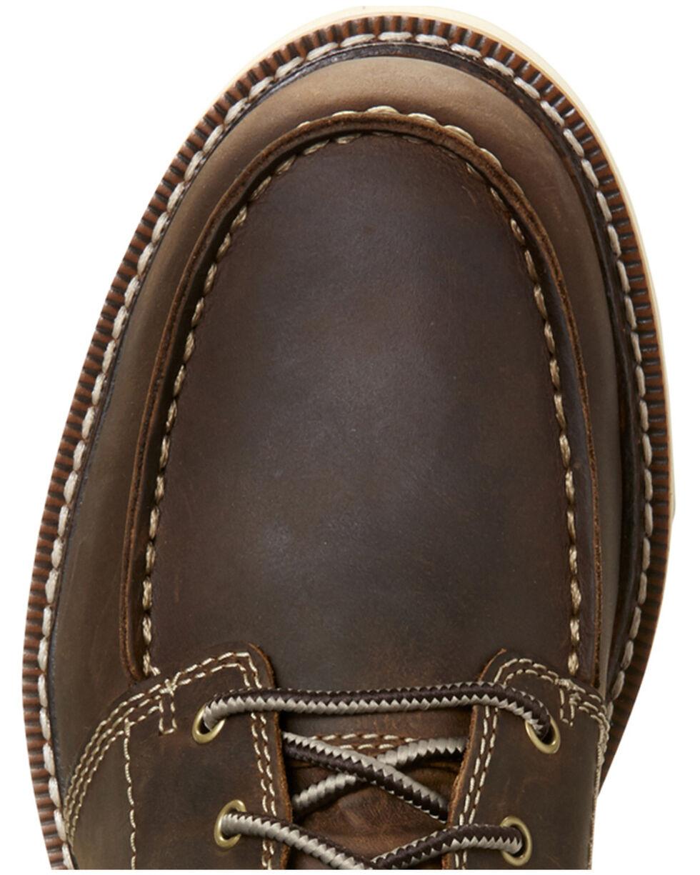 Ariat Men's Recon Lace-Up Boots - Moc Toe, Brown, hi-res