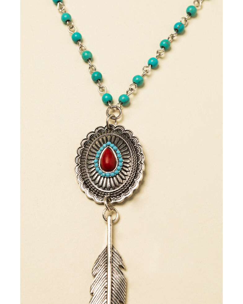 Idyllwind Women's Looking My Way Multi-Layered Necklace, Silver, hi-res