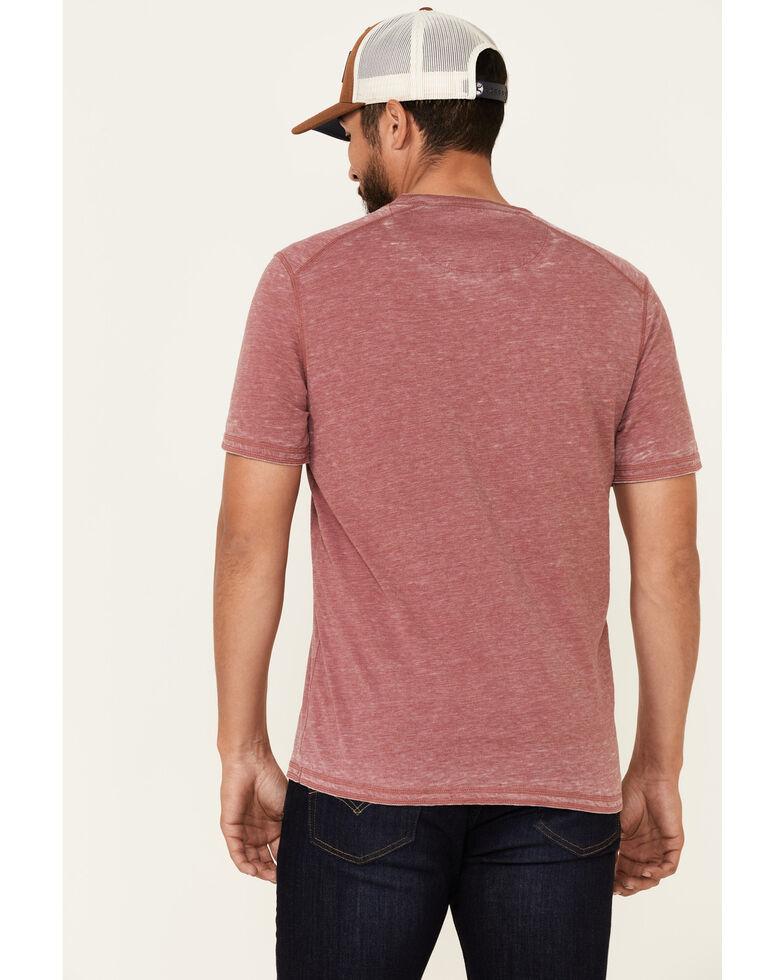 Flag & Anthem Men's Springdale Bo Henley Short Sleeve T-Shirt , Red, hi-res