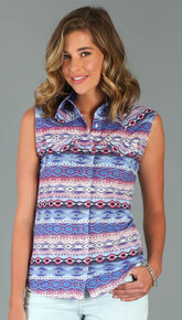 a98b99def3ada2 Wrangler Rock 47® Womens Multi Western Print Snap Shirt , Multi, hi-res