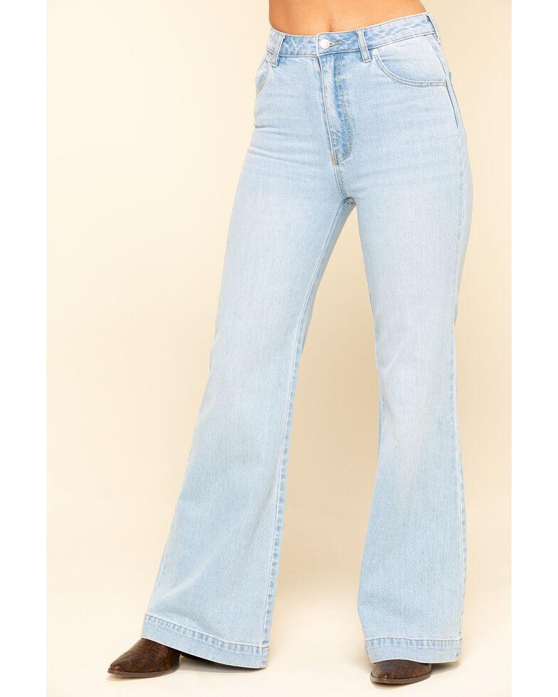 Rolla's Women's Light Wash East Coast Flare Jeans , Blue, hi-res