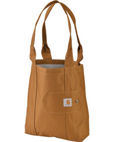 Carhartt Legacy Women's Brown Essential Tote, Brown, hi-res