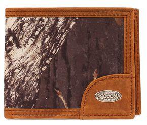Nocona Camo Logo Concho Bi-fold Wallet, Mossy Oak, hi-res