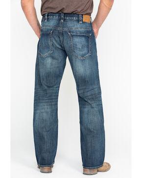 Silver Men's Gordie Loose Straight Jeans , Indigo, hi-res