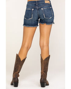 "Ariat Women's Boyfriend 5"" Short Hazel Shorts, Blue, hi-res"