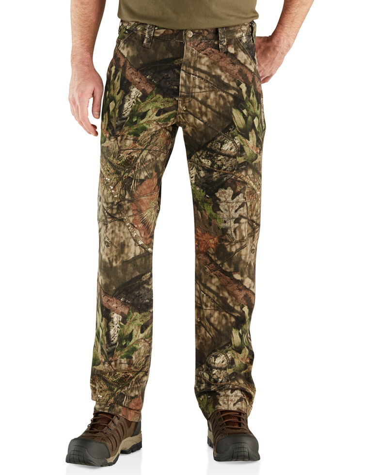 Carhartt Men's Camo Rugged Flex Rigby Dungarees - Straight Leg , Multi, hi-res