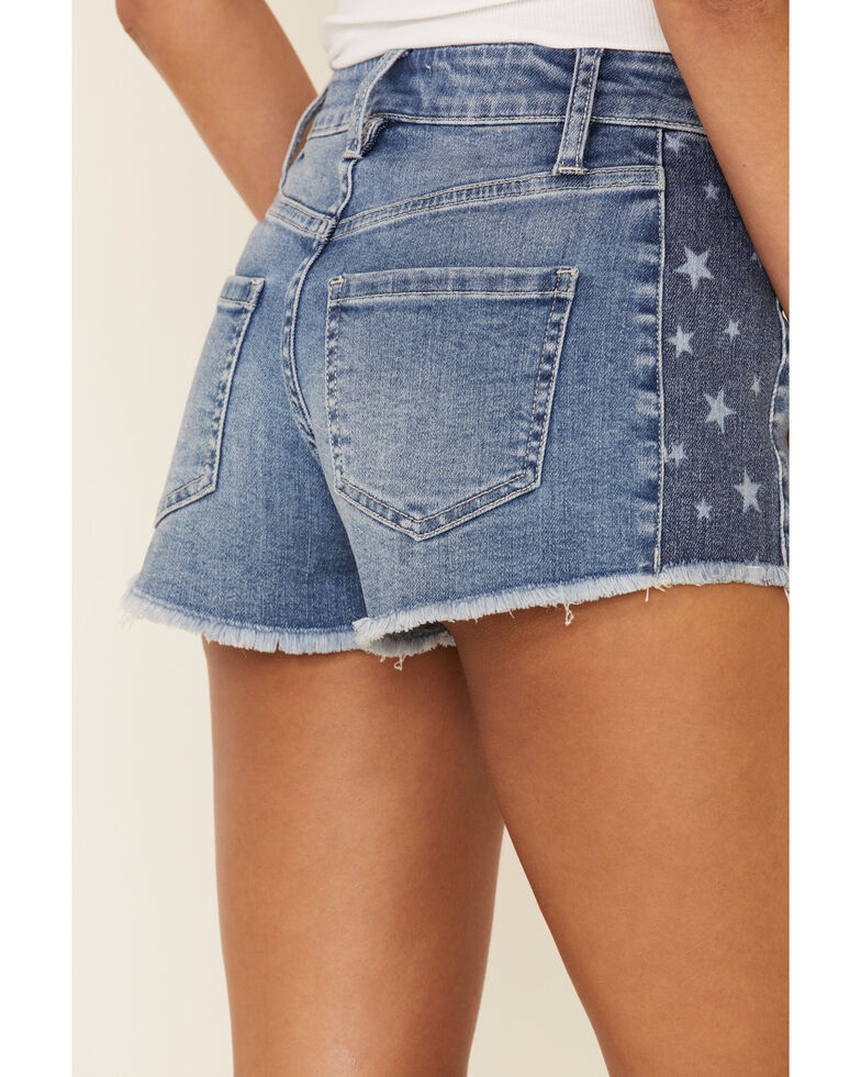 Shyanne Women's Americana Shorts, Medium Blue, hi-res