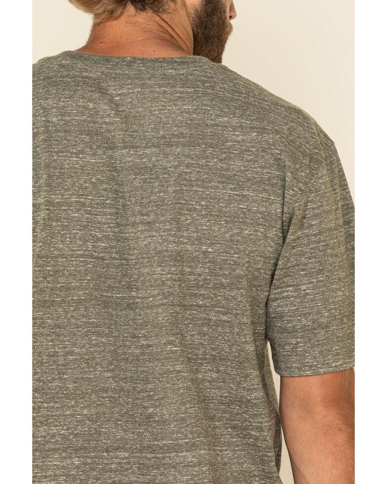 Carhartt Men's Army Green Pocket Short Sleeve Work T-Shirt - Big , Green, hi-res