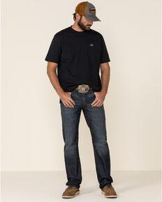 Moonshine Spirit Men's Eating Iron Dark Stretch Slim Straight Jeans , Blue, hi-res