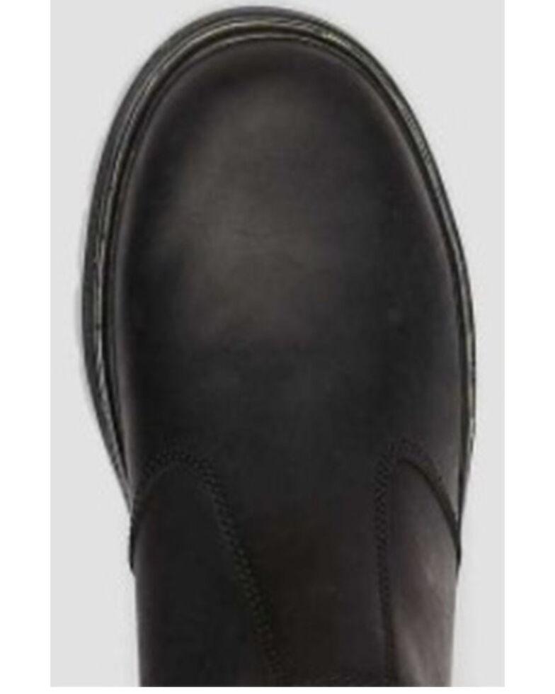 Dr. Martens Women's Black Hardie Chelsea Boots - Round Toe, Black, hi-res
