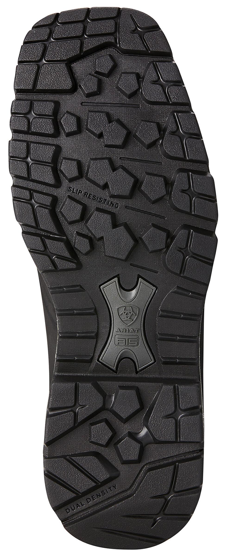 Ariat Men's Black Conquest Rubber Boots - Square Toe , Black, hi-res