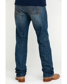 Wrangler Retro Men's Celina Stretch Slim Straight Jeans - Long , Blue, hi-res