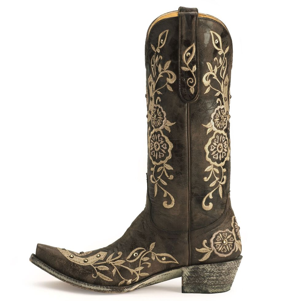 Old Gringo Lucky Ultra Vintage Boots - Snip Toe, Chocolate, hi-res