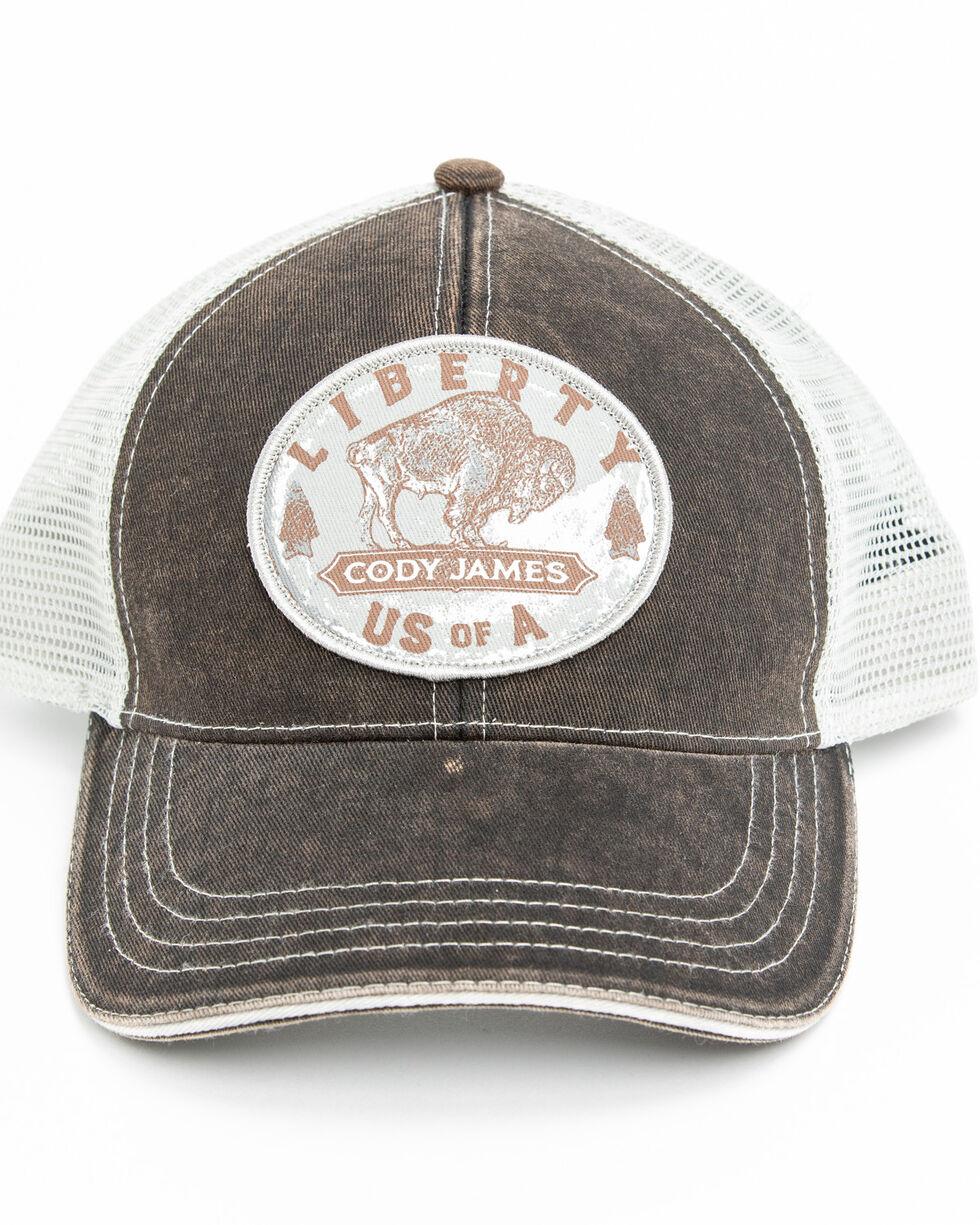 Cody James Men's Buffalo Coin Patch Cap , Rust Copper, hi-res