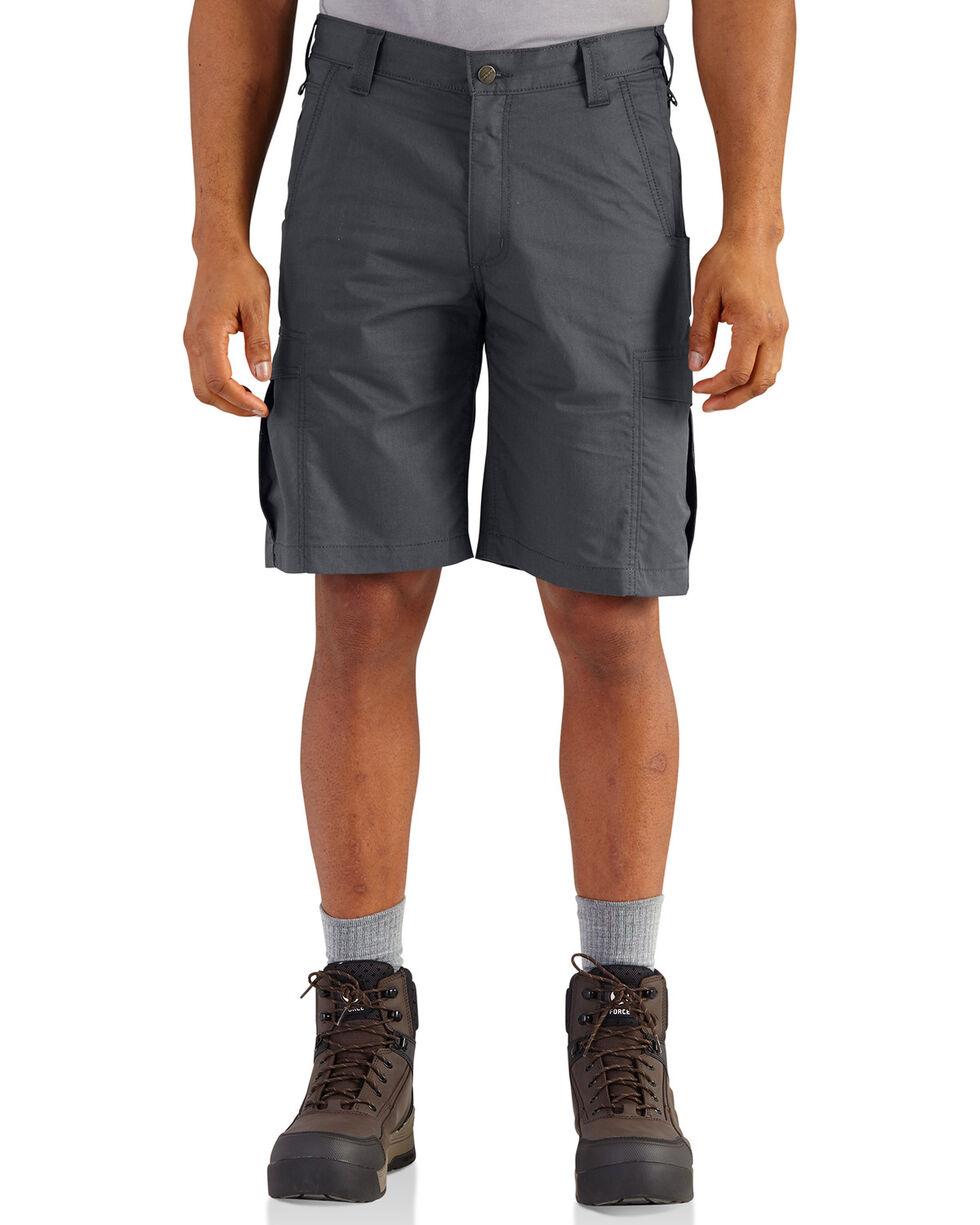 Carhartt Men's Dark Khaki Force Extremes Cargo Shorts , Charcoal Grey, hi-res