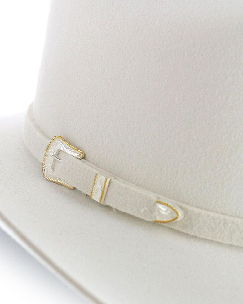 Stetson 3X Wool Felt Cowboy Hat, White, hi-res