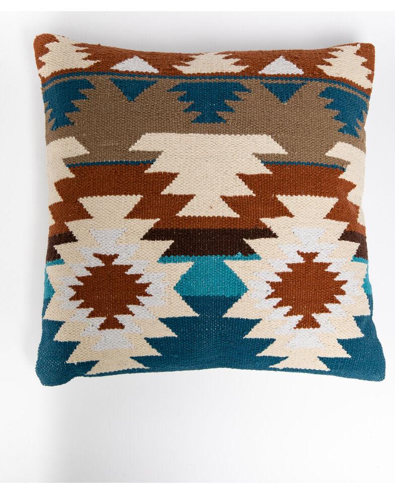 BB Ranch Fall Serape Aztec Pillow, Multi, hi-res