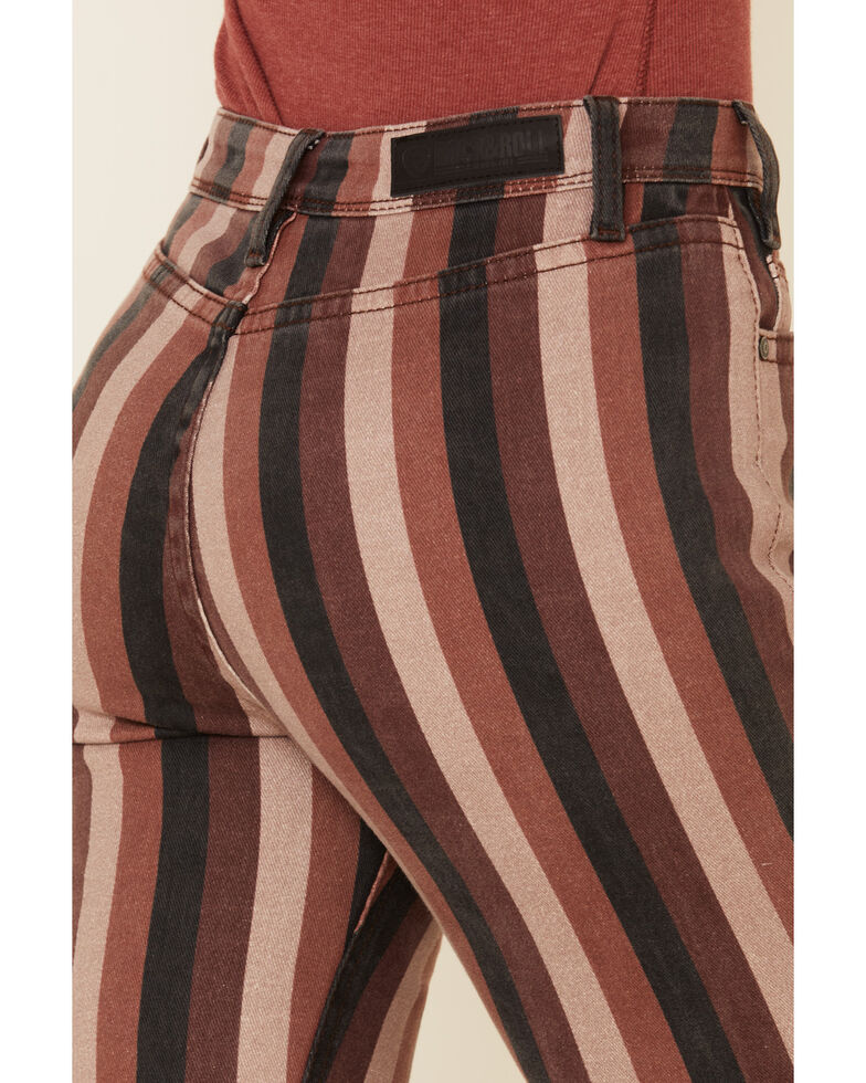 Panhandle Women's Striped Flare Jeans, Multi, hi-res