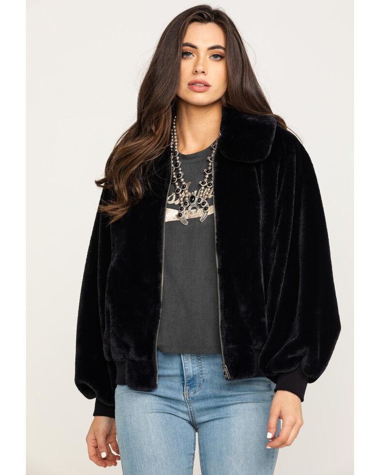 White Crow Women's Black Canyon Zipper Jacket, Black, hi-res