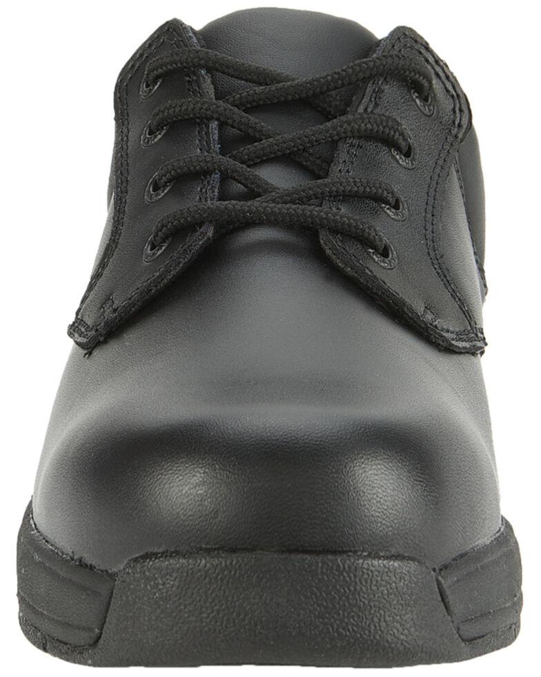 Rocky Slipstop Oxford Work Shoe - Plain Toe, Black, hi-res
