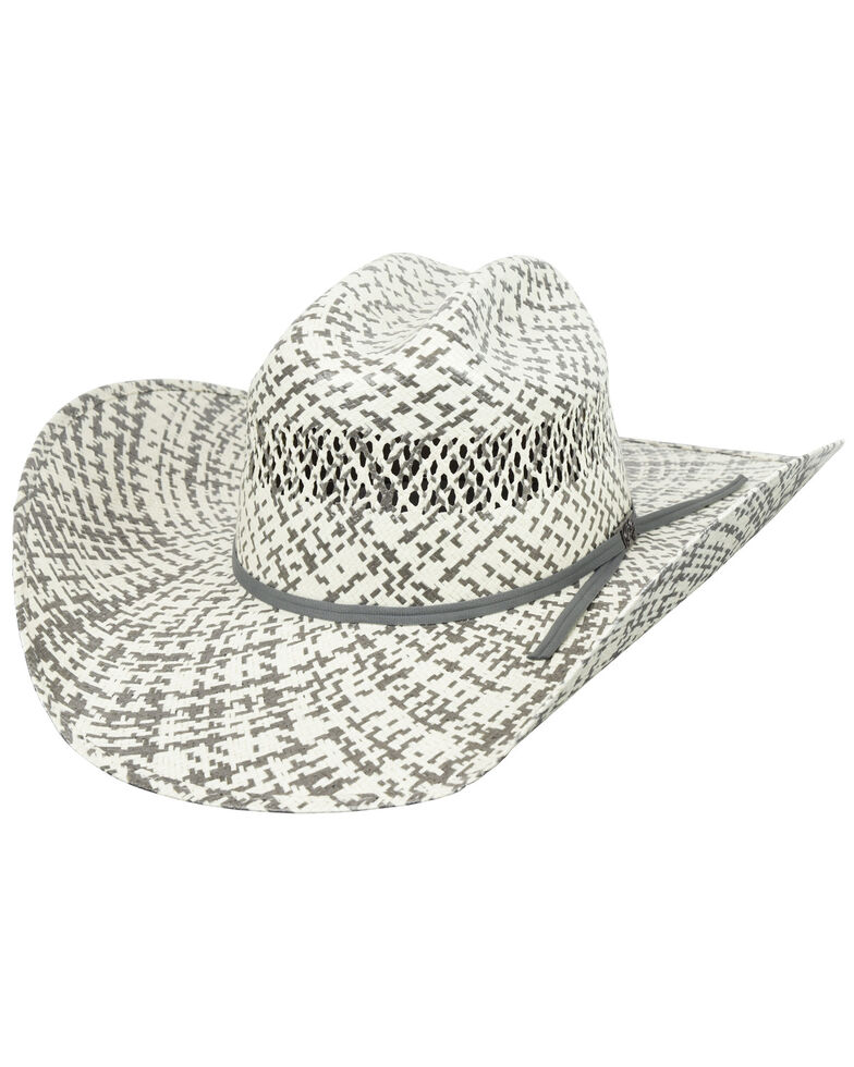 Bailey 7X Two-Tone Dinero Rodeo Western Straw Hat , Natural, hi-res