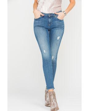 MM Vintage Women's Claudia Skinny Jeans, Indigo, hi-res