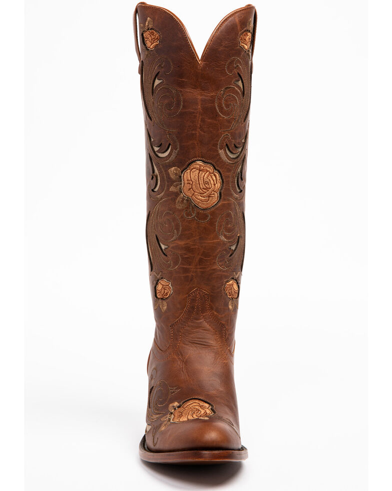 Shyanne Women's Africa Shadow Western Boots - Round Toe, Brown, hi-res