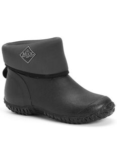 Muck Boots Women's Black Muckster II Rubber Boots - Round Toe, Black, hi-res