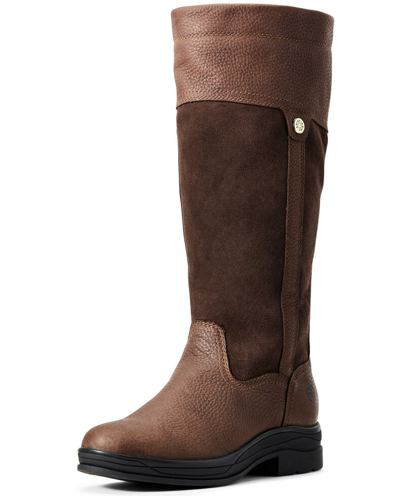 Ariat Women's Windemere II Riding Boots - Round Toe, Brown, hi-res