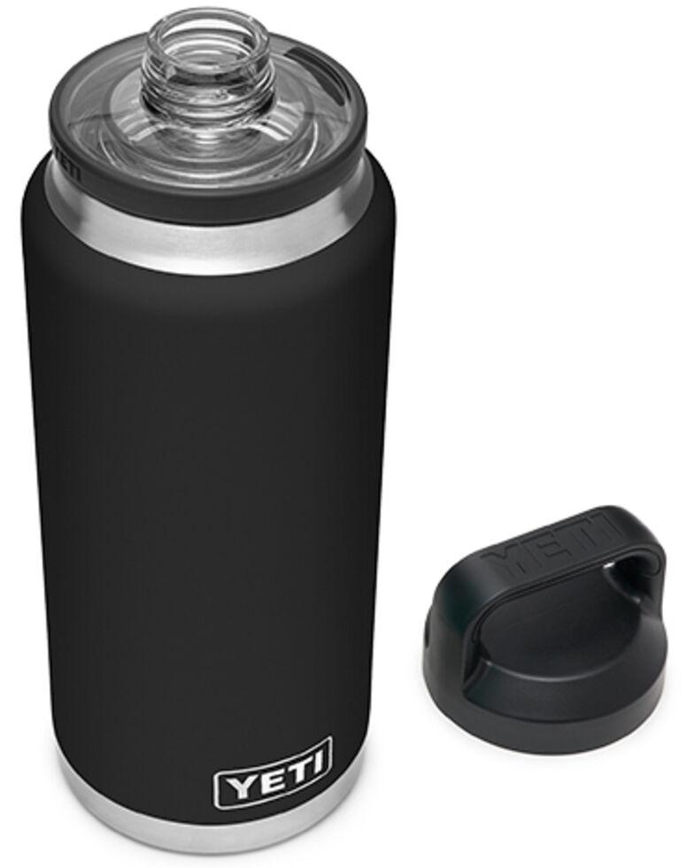 Yeti Rambler 36oz Black Chug Bottle, Black, hi-res