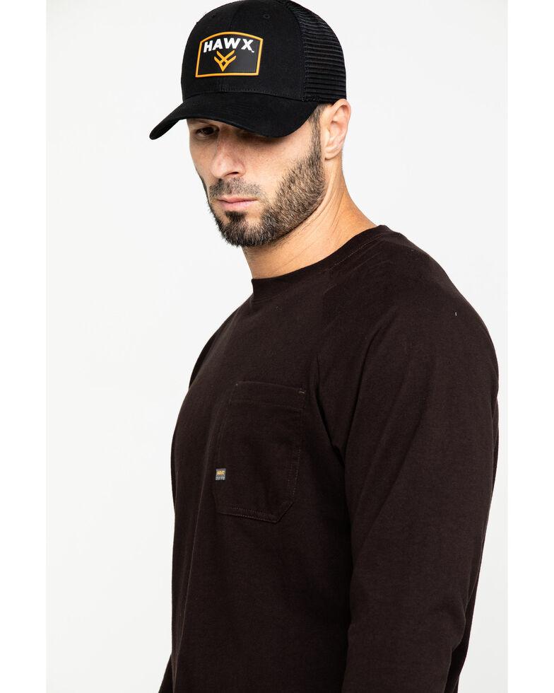Ariat Men's Purple Rebar Cotton Strong Long Sleeve Work Shirt - Big & Tall , Purple, hi-res