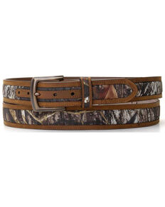 M&F Western Men's Mossy Oak Camo Belt - Big, No Color, hi-res