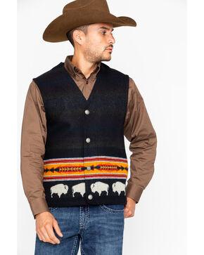 Pendleton Men's Big Medicine Vest, Black, hi-res