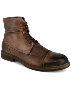 Evolutions Men's Trey Lace-Up Work Boots - Soft Toe, Tan, hi-res