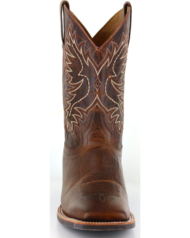 Cody James Men's Xero Gravity Embroidered Performance Boots - Square Toe, Brown, hi-res