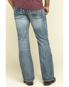 Rock & Roll Denim Men's Pistol Reflex Stretch Regular Bootcut Jeans , Blue, hi-res