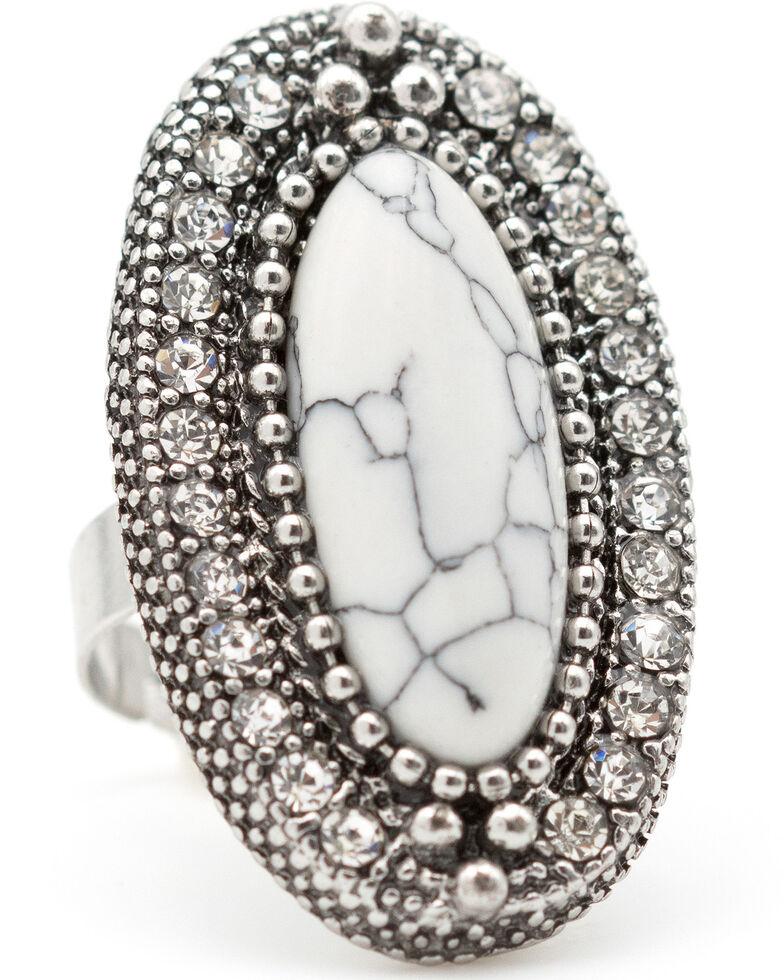 Cowgirl Confetti Women's Blind Eye Ring, Silver, hi-res