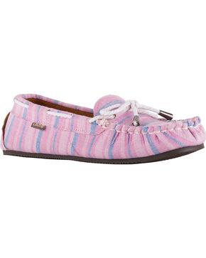 Lamo Women's Sabrina II Moccasins , Pink, hi-res