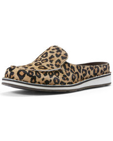 Ariat Women's Leopard Hair Cruiser Shoes - Moc Toe, Leopard, hi-res