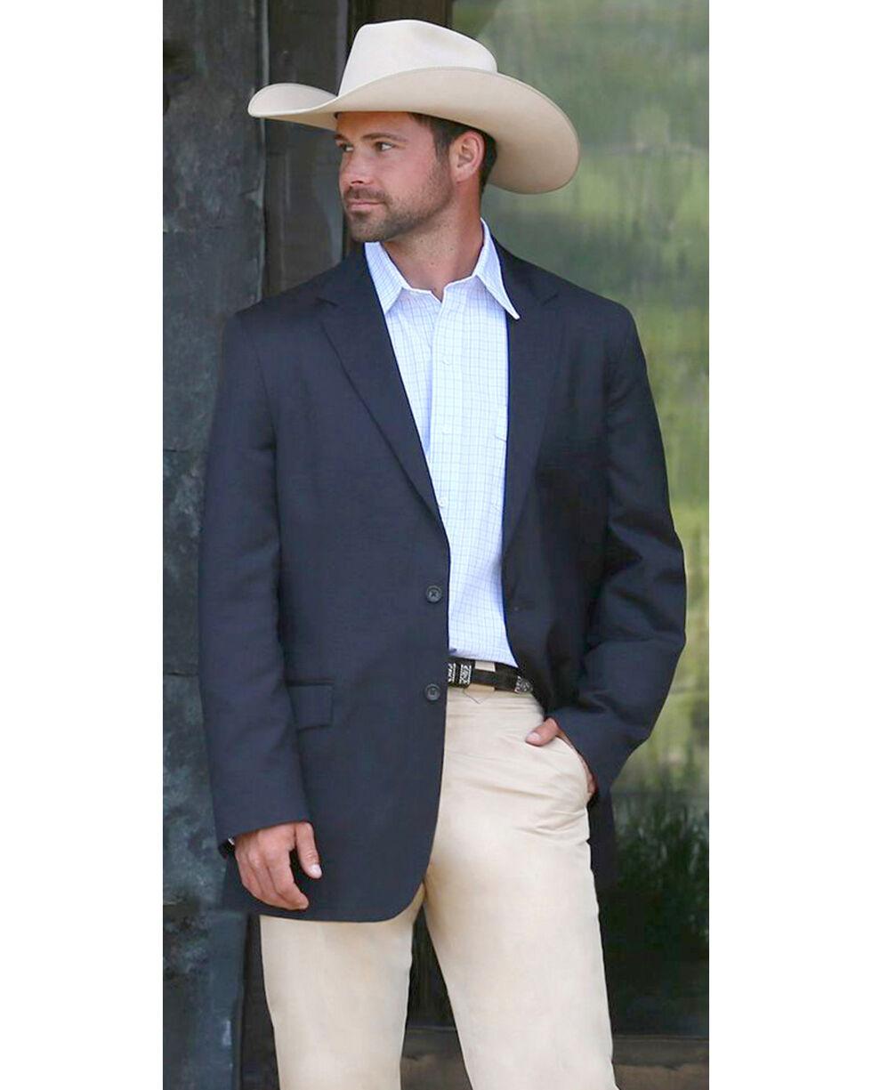 Schaefer Outfitter Men's Navy Reserve Ranch Blazer , Navy, hi-res