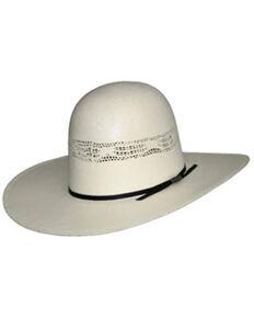 Hat Biz Kids Natural Bangora Straw Western Hat , No Color, hi-res