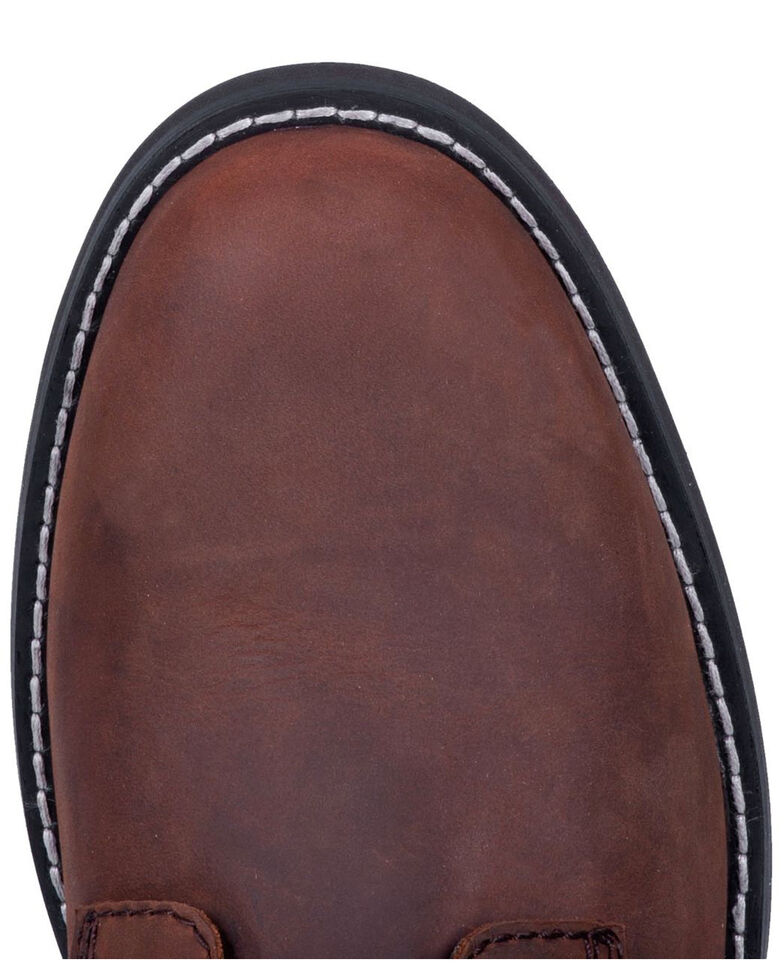 Dingo Men's Huck Lace Boots - Round Toe, Brown, hi-res