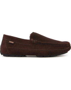 LAMO Men's Lewis Moccasins, Chocolate, hi-res