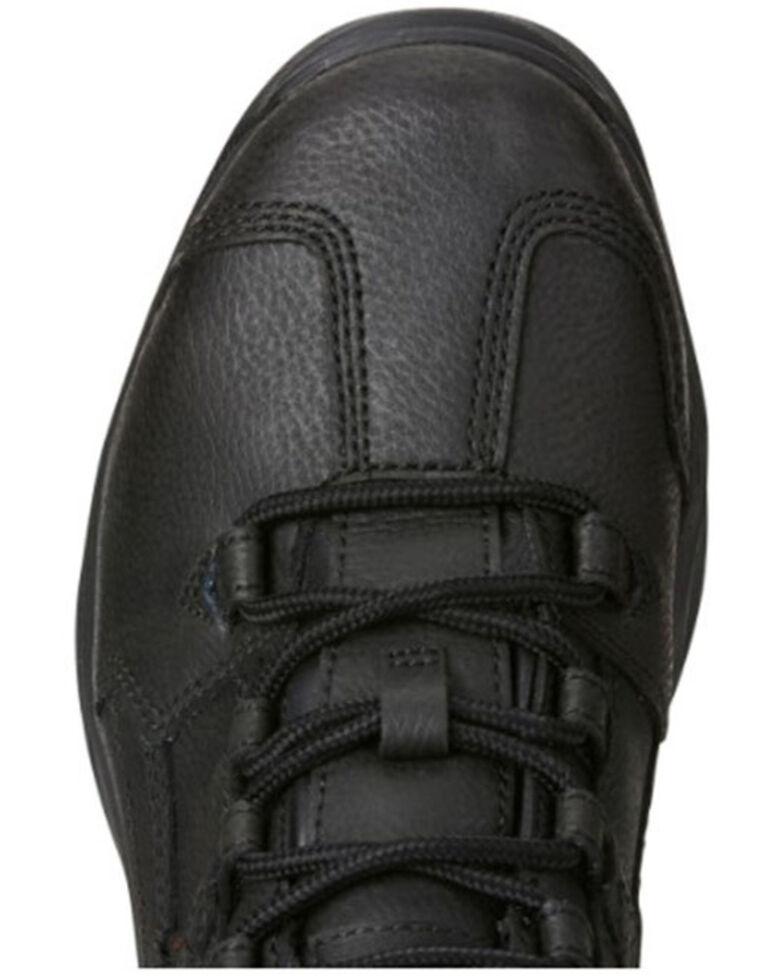 Ariat Women's Contender Waterproof Work Boots - Soft Toe, Black, hi-res